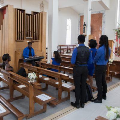 Mollineau Weddings: Sound Check With Gospel Choir - Sourced By Marsha.