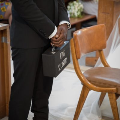 Mollineau Weddings: Sourced Keepsake Custom Made Briefcase.