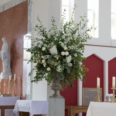 Mollineau Weddings & Events: Church Wedding Decorations.