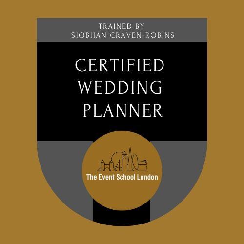 certified wedding planner