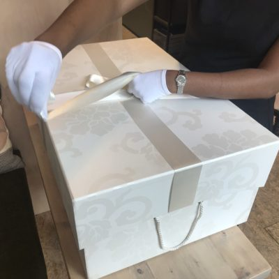 Mollineau Weddings & Events: Advised Bride To Preserve Her Vera Wang Wedding Dress In A Special pH Neutral Wedding Dress Box.